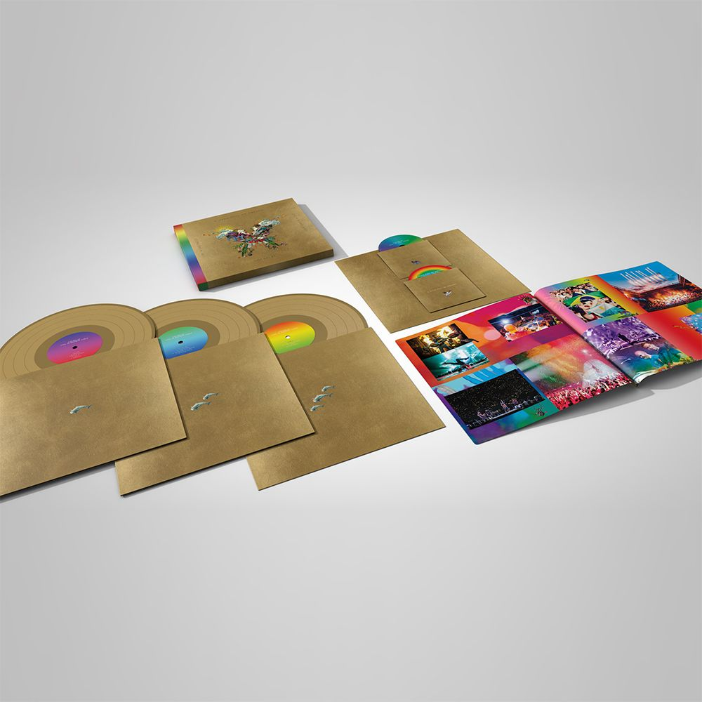 Coldplay Live In Buenos Aires LP DVD
